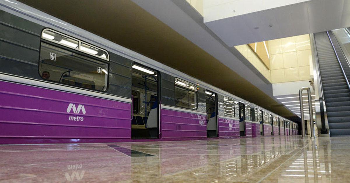 Новые вагоны в метро санкт петербурга фото давно